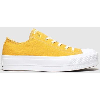 Converse Yellow Renew Lift Trainers