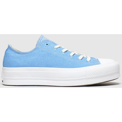 Converse Blue Renew Lift Trainers
