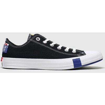 Converse Black & White Ox Logo Play Trainers