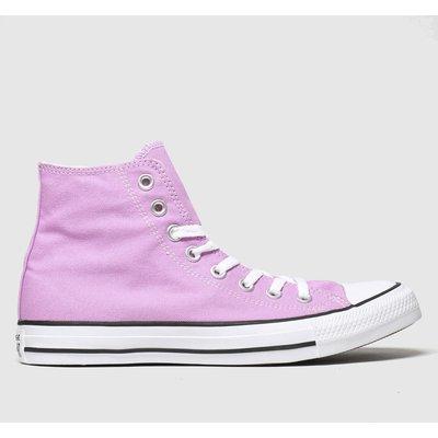 Converse Pink Hi Trainers