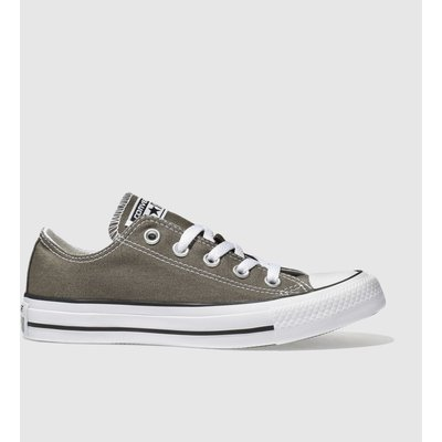 Converse Dark Grey All Star Speciality Oxford Trainers