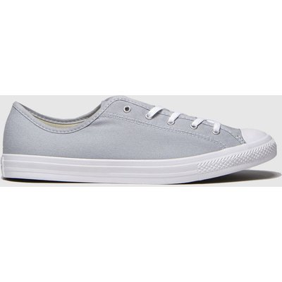 Converse Light Grey All Star Dainty Trainers