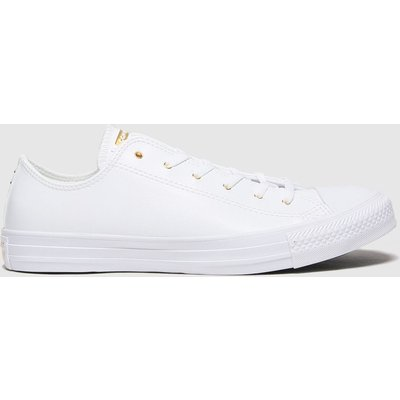 Converse White Craft Ox Trainers