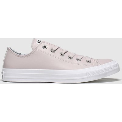 Converse Pale Pink Precious Metals Ox Trainers