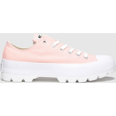 Converse Pink All Star Lugged Ox Trainers