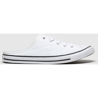 Converse White All Star Dainty Mule Trainers