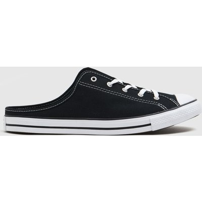 Converse Black & White All Star Dainty Mule Trainers