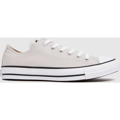 Converse White & Beige Ox Trainers