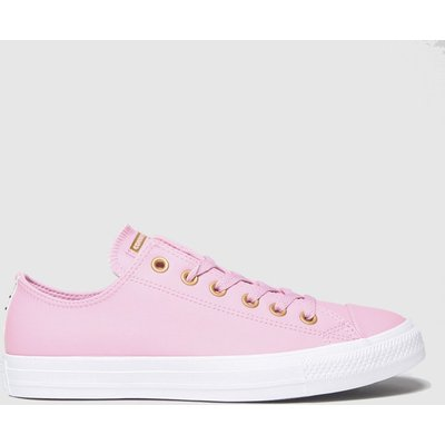Converse Pale Pink Ox Trainers