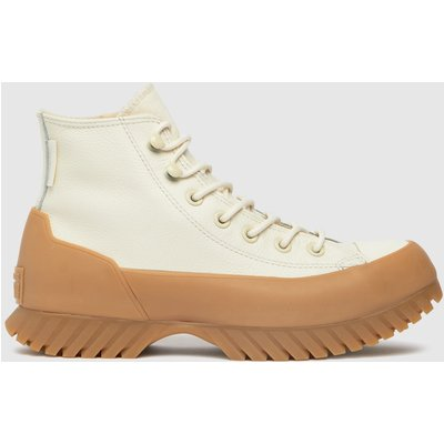 Converse White Lugged Winter 2.0 Hi Trainers