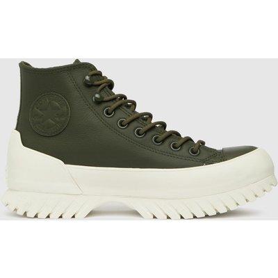 Converse Dark Green Lugged Winter 2.0 Hi Trainers
