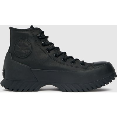 Converse Black Lugged Winter 2.0 Hi Trainers