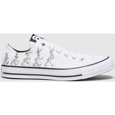 Converse White & Grey Ox Bugs 80th Trainers