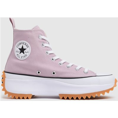 Converse Lilac Run Star Hike Recycled Hi Trainers