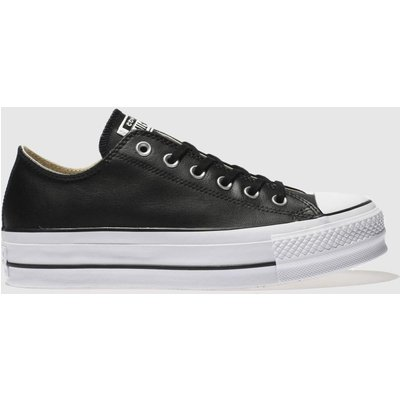 Converse Black Chuck Taylor Lift Ox Trainers