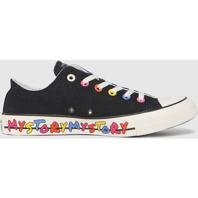 Converse Black My Story Ox Trainers