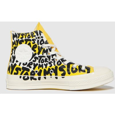 Converse Yellow Chuck 70 My Story Hi Trainers