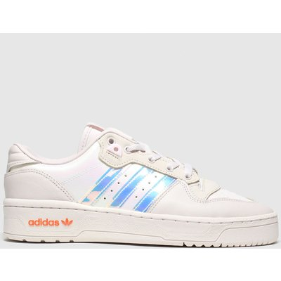 Adidas Pale Pink Adi Rivalry Low Trainers