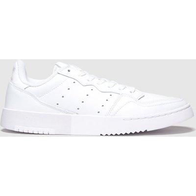 Adidas White Supercourt Trainers