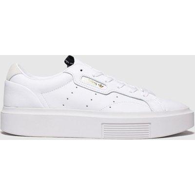 Adidas White Sleek Super Trainers