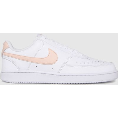 Nike White Court Vision Low Trainers