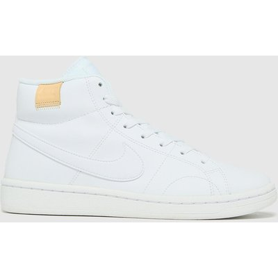 Nike White Court Royale 2 Mid Trainers