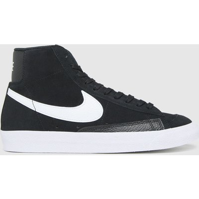 Nike Black & White Blazer Mid 77 Trainers