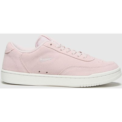Nike Pale Pink Court Vintage Premium Trainers