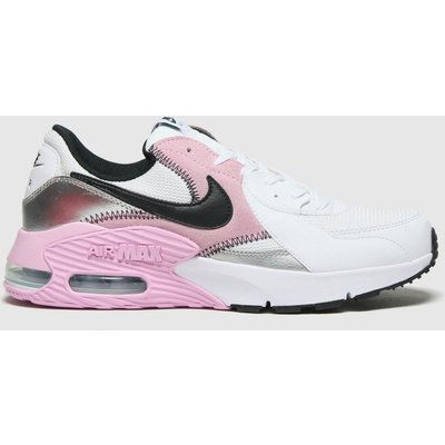 Nike White & Grey Air Max Excee Trainers
