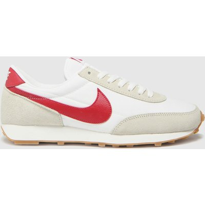 Nike White & Red Daybreak Trainers