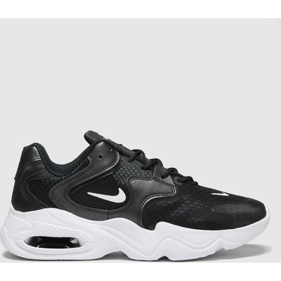 Nike Black & White Air Max 2x Trainers