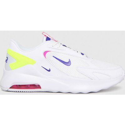 Nike White Air Max Bolt Trainers