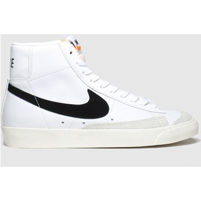 Nike White & Black Blazer Mid 77 Trainers