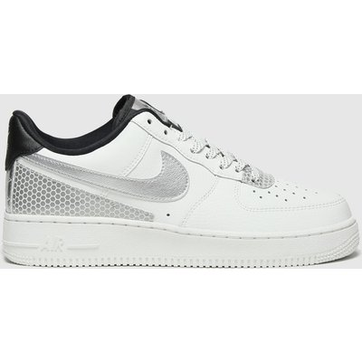 Nike White & Black Air Force 1 07 Se Trainers