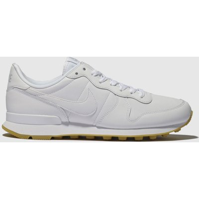 Nike White Internationalist Trainers