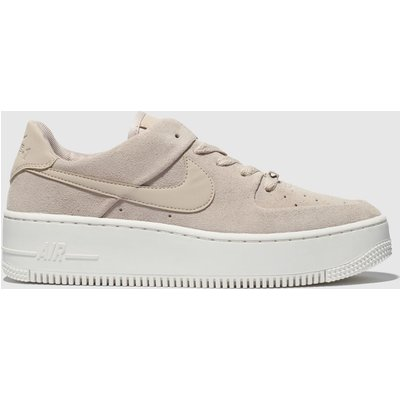 Nike Pale Pink Air Force 1 Sage Low Trainers