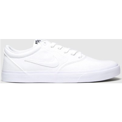 Nike SB White Charge Trainers