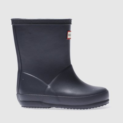 Hunter Navy First Boots Toddler