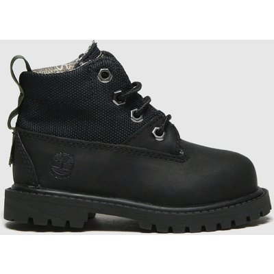 Timberland Black Rebotl 6in Premium Boots Toddler
