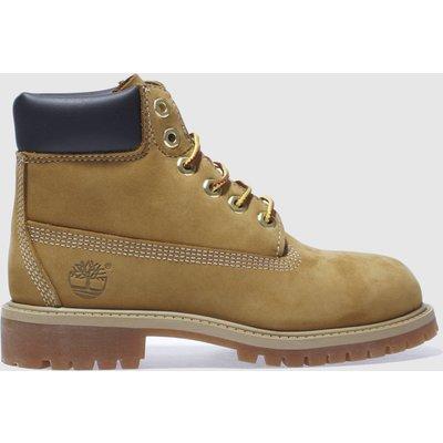 Timberland Natural 6in Premium Boots Junior