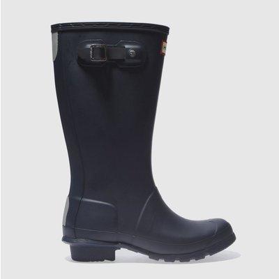 Hunter Navy Original Boots Junior