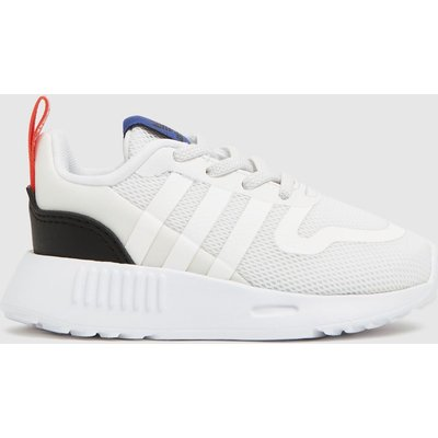 Adidas White & Black Multix Trainers Toddler