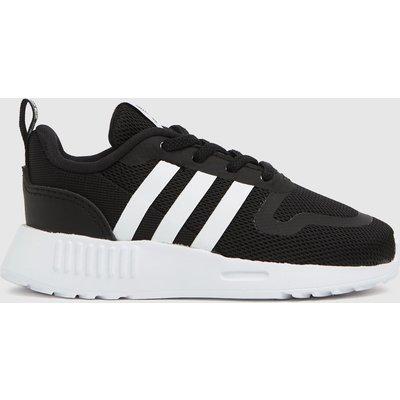 Adidas Black & White Multix Trainers Toddler