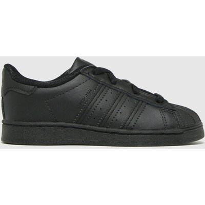 Adidas Black Superstar El Trainers Toddler