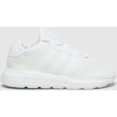 Adidas White Swift Run X Trainers Toddler