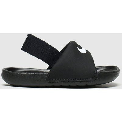 Nike Black & White Kawa Slide Sandals Toddler