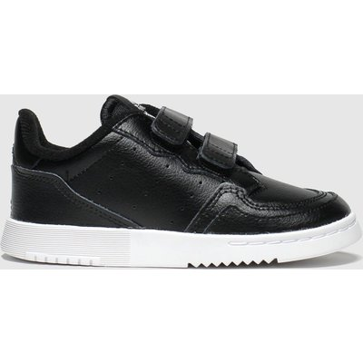 Adidas Black Supercourt Trainers Toddler