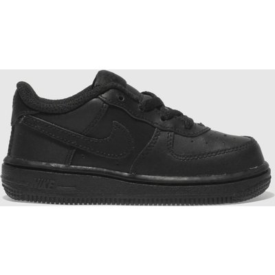 Nike Black Air Force 1 Trainers Toddler