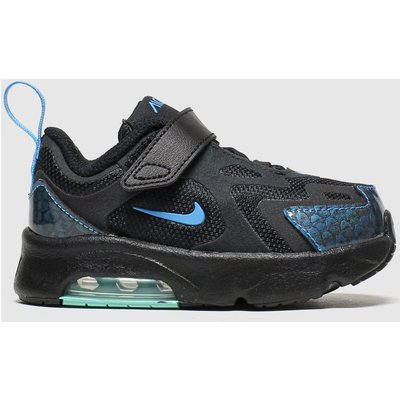 Nike Black And Blue Air Max 200 Baby Dragon Trainers Toddler