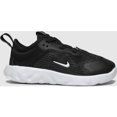 Nike Black & White Renew Lucent Trainers Toddler